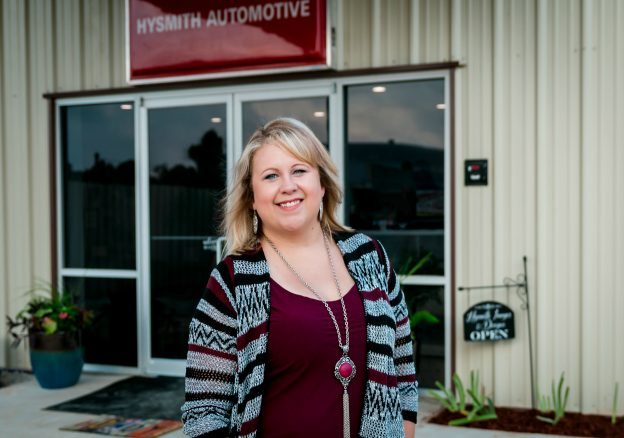 Ashley Hysmith, Owner and Office Manager
